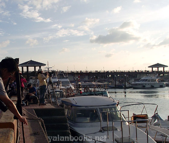 Taiwan Tamsui Fisherman Wharf View Romanticism  Photography 台湾 淡水渔人码头 风光摄影 浪漫主义 Yalan雅岚 黑摄会